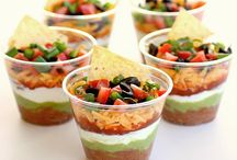 Snacks & Dips / Lots of snacks, dips, and appetizers for groups and parties.