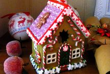 christmas polymer clay gingerbread house