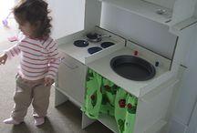 Ideas | cuisinette pour mes filles