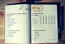 Keys bullet journal