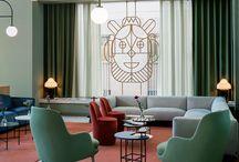 Hotel, interior ...