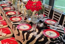 Kappa tablescapes / Table decorations