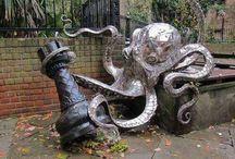 Садовые скульптуры, МАФ