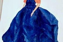 Fashion Illustration Painting