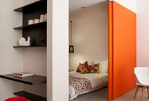 Small spaces - Living- and sleepingroom