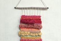 Made by Jinny / #loomweaving #tapestry #wallhanging #DIY #handmade #tapestryweaving #타피스트리 #타피스트리위빙 #위빙