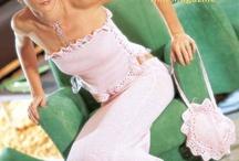 Knit- Crochet skirt-dress