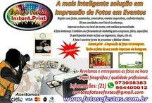 Fotos e Festas Instant. Print