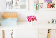girl boss / All the spaces and ideas we love that can make getting the job done just a bit easier!