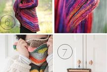 Different knitted stuff / A lot of inspiration. And mixed patterns