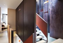 Copper style walls