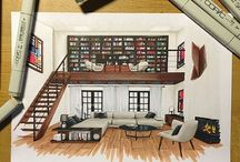 Drawing Architecture Rooms / The titel says it all