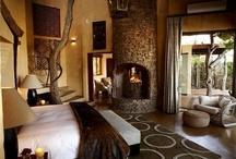 ložnice - africký styl