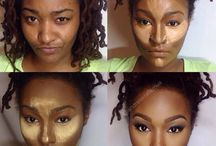 Makeup Contour and Highlighting
