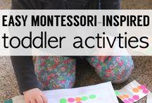 Toddler/Kid Activities / by Liz Simons-Adams
