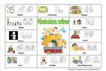 Utbildning Förskolans rutiner