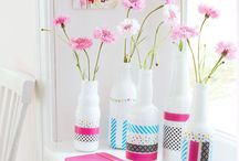 Washi Tape Design / This wall is all about creative ideas with washi tape.