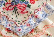 Vintage Fabrics and pattern