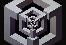 figuras geometricas en madera
