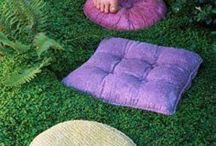 kreativa idéer trädgården