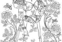 Free Coloring Pages for Adults & Kids / FreeColoringDaily.com