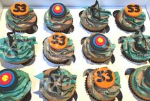 Hunting & Fishing Cakes and Cupcakes