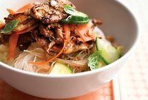oriental food / by Shelley Talada