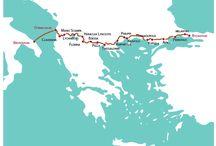 Viaggi in Albania, Associazione FuoriVia, Durazzo, Francesco Ruzzante, Istanbul, Via Egnatia