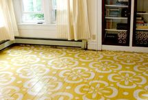 Patterned Painted Floors