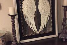 angel wings decor