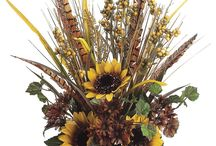Fall Flower Arrangements / by Diane Willis