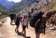Our Incan Blood Super Porters / When you decided to do the 4 day Inca Trail hike to Machu Picchu, you must have heard that there are really strong people that carry all your equipment and help the tourists(hikers) all along the trail.
