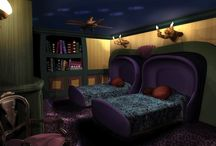 Dream House - Theme Rooms / Why, yes, I *do* want to live in Disneyland. :D / by Tracy Miller