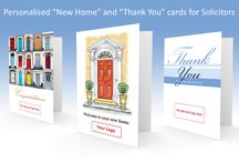 Thank You cards for Solicitors / Sending greetings cards to your clients builds customer loyalty and increases customer referrals