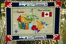 Discover Canada Fabrics by Robert Kaufman