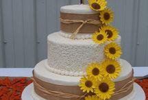 CAKES - WEDDING / by Lisa Jones Czarnik