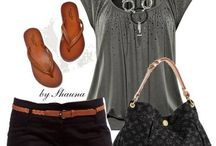 summer outfits / by Penny Lanter-Wilds