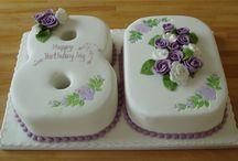 Nana's 80th Birthday Cake