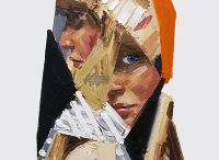 paintings - collage, fragmentation, grid