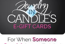 Jewelry in candles / by Alicia Johnson