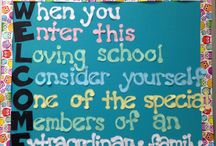 Back to School Stuff for Teachers / If you are stuck at the beginning of the school, this board can inspire you.