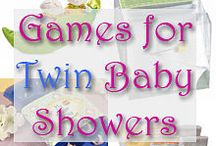Twin baby showers