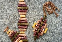Peyote stitch jewellery