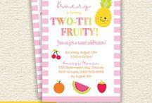 Two-tti Fruity Party Ideas