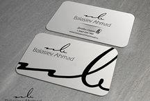 Бренд, логотип, визитная карточка дизайн студии Баласиева Ахмеда.