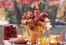 Fall Event Decor