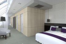 HOTEL GYŐR / Győr belvárosában, meglévő, nyolc szintes hotel teljeskörű belsőépítészeti kialakítása.