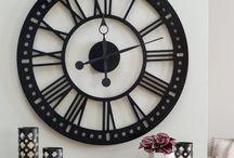 часы стена