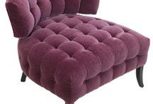 The Color Purple / FormDecor has an eclectic collection of furniture rentals that fit within the purple color scheme. See them all here --> http://bit.ly/10zJIl3 / by FormDecor
