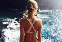 Looks de praia / Tomando um bronze sem perder o estilo!